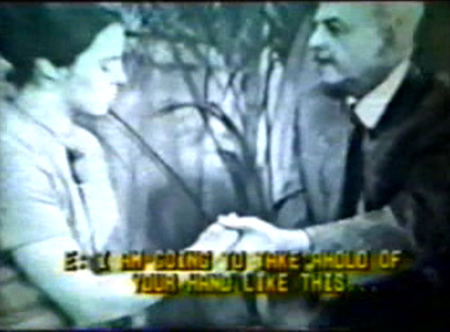 RARE Video of The Father of Modern Day Hypnosis Milton H. Erickson Performing A Live Trance Induction